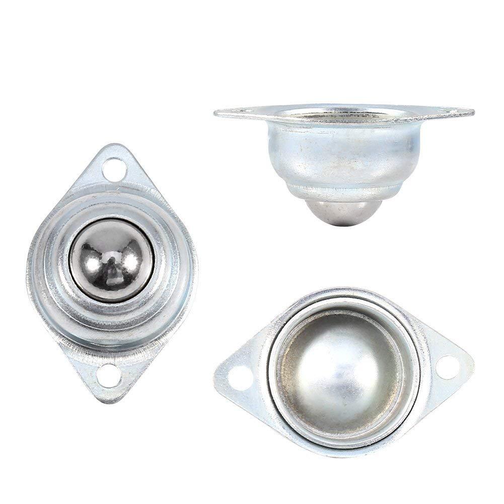 Rolle f/ür F/örderer - 25mm nylon ball Set von 6,66 kg pro St/ück 2,5 cm Flansch montiert Gehrungss/äge M/öbelrollen Ball-Transferrollen