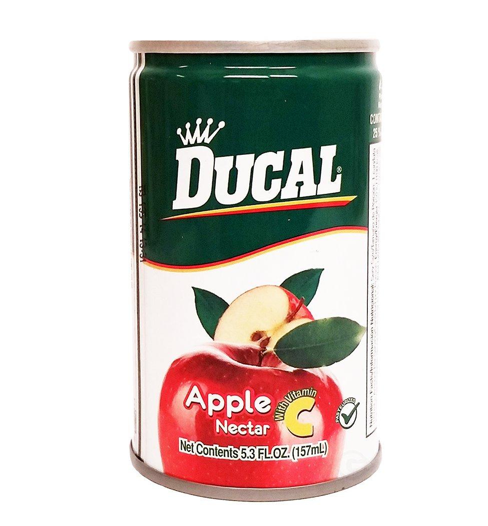 Ducal Apple juice 5.3 oz fl - Jugo de Manzana (Pack of 12)