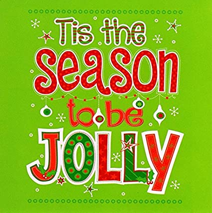 Pack of 16 Mini Tis The Season Christmas Cards Xmas Card Cello Packs: Amazon.es: Oficina y papelería