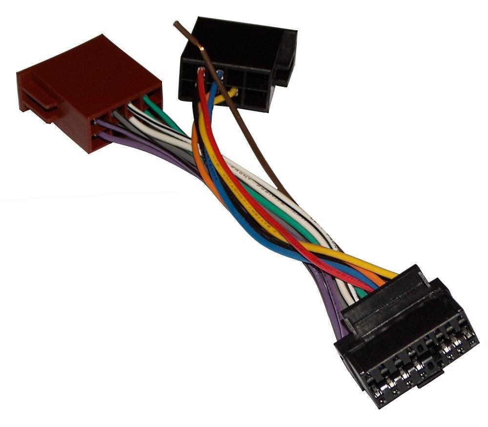 AERZETIX: Adaptador cable enchufe ISO para radio de coche C10417 SK2-C10417-K16