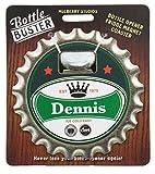 Mulberry Studio Bottle Opener Fridge Magnet Coaster All in One - Dennis