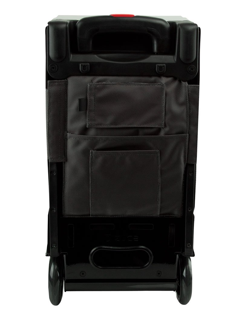 Zuca Pro Artist Case Black on Graphite Full Set (Black Frame,graphite Insert Bag, 4 Clear Vinyl Utility Pouches, Black Travel Cover) by ZUCA