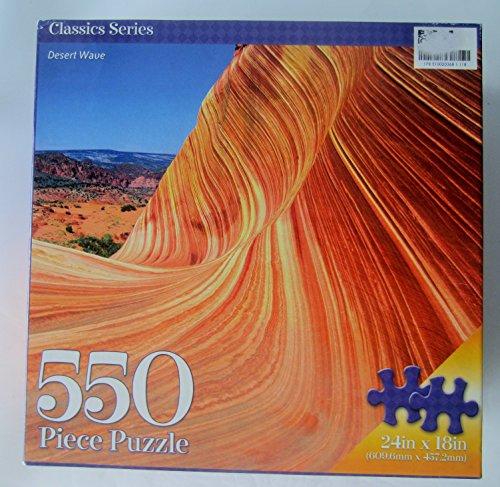 - Desert Wave 550 Piece Puzzle