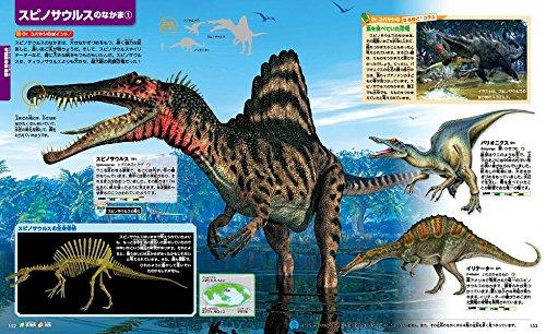 スピノサウルスの仲間と骨格