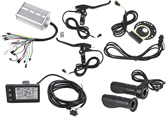 Amazon.com: Jadeshay Motor Controller LCD Panel Kit,36V/48V 1500W Brushless Motor Controller LCD Panel Kit for E-Bike Electric Bike Scooter: Home & Kitchen