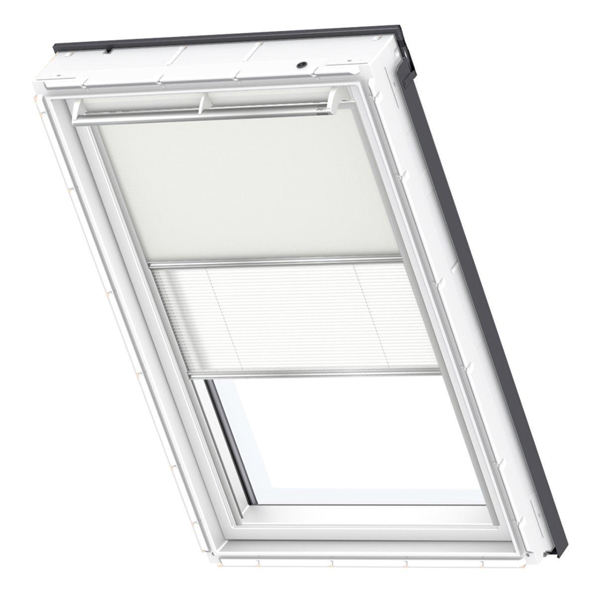VELUX Original Verdunkelung Plus Dachfenster, PK06, Uni Beige Weiß
