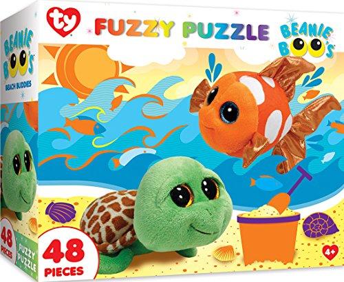 Beach Buddies - MasterPieces Ty Beanie Boo Fuzzy of Beach Buddies - 48 Piece Kids Puzzle