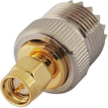 bingfu estándar 50 ohmios RF Coaxial adaptador de antena SMA enchufe Socket con Pin Centro de