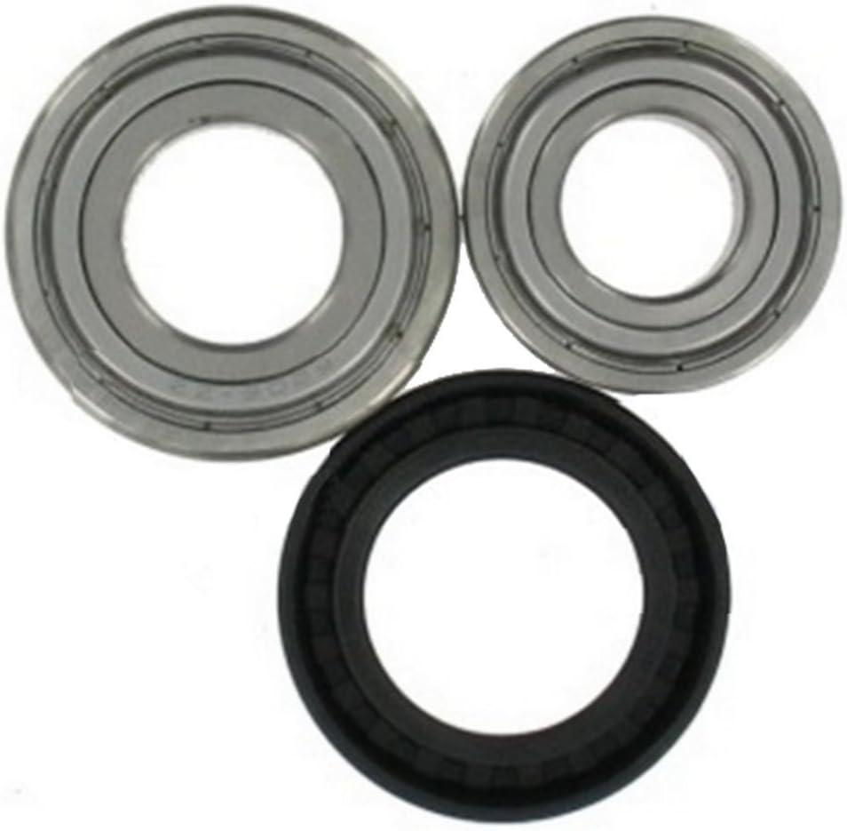 Spares2go cartucho de rodamiento de tambor retén de aceite kit para lavadoras Whirlpool (gran tipo)