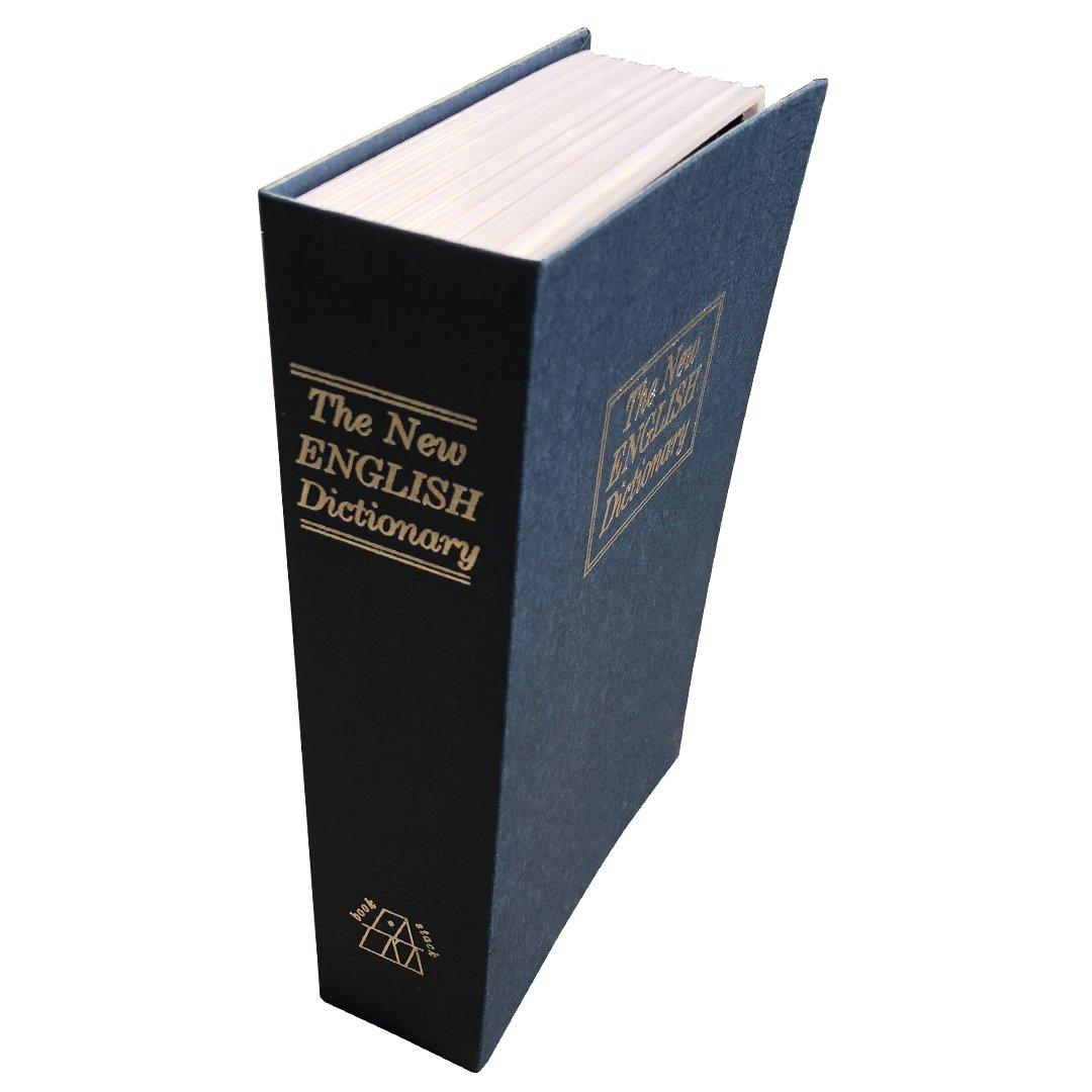 sepoxロックボックスwithキーロックBook Safe Regular B078HTH64K Blue Book Box Blue Book Box