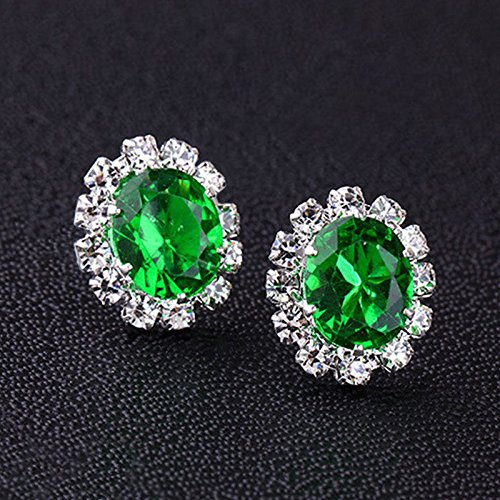 suchadaluckyshop by Lucky Neu Women Elegant Crystal Rhinestone Ear Stud Earrings Gift Jewelry ()