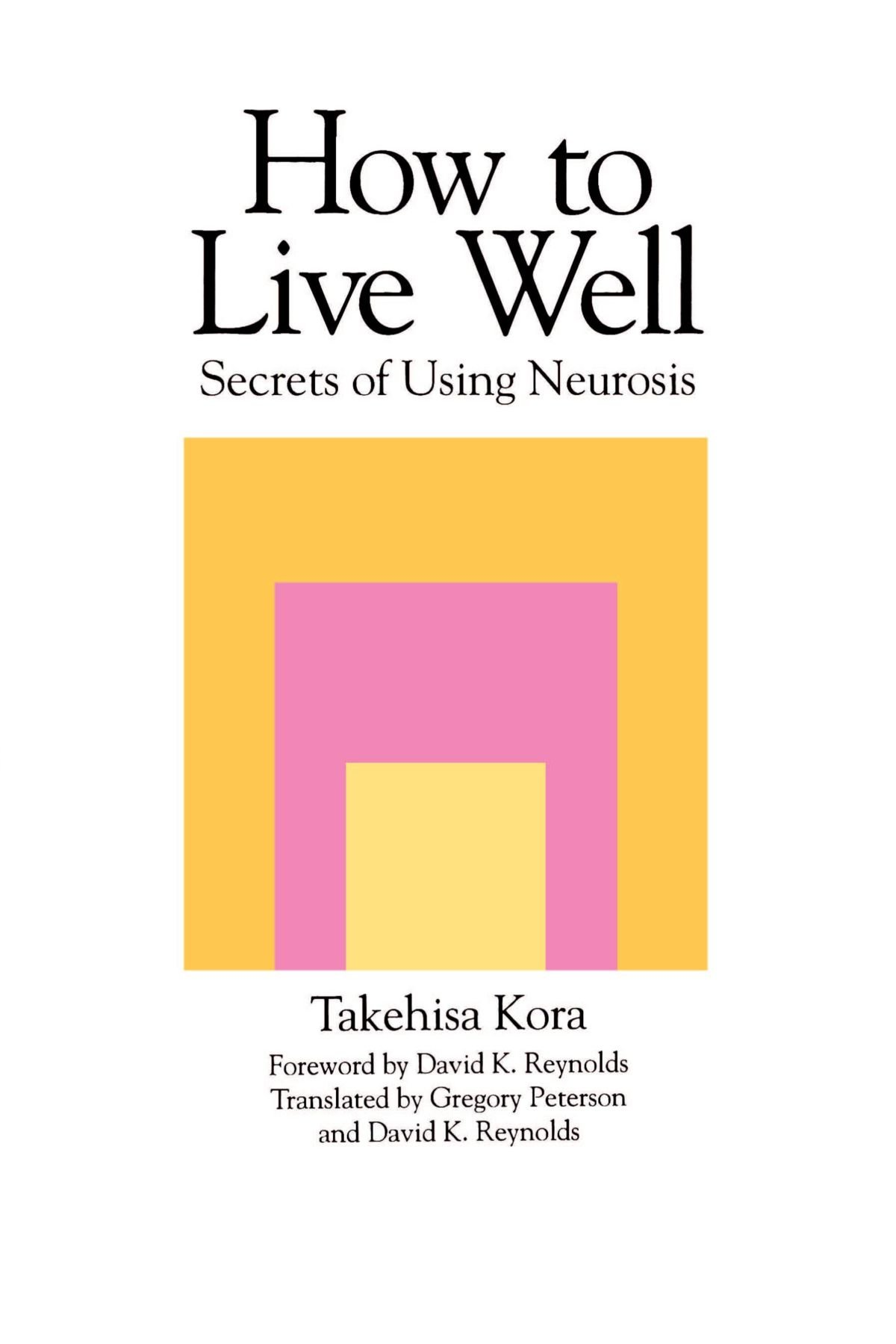 How to live well 93