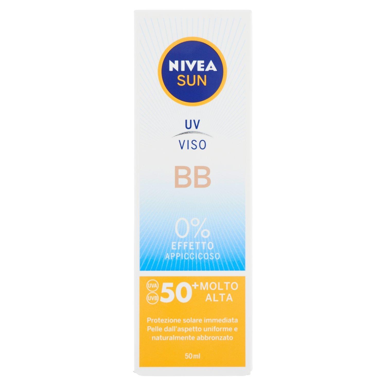 Nivea Sun Crema Solare UV Idratante Opacizzante Viso FP30, Protezione Alta, 50 ml Beiersdorf 86004