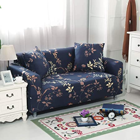 Amazon.com: Qord - Fundas de sofá elásticas con parte ...