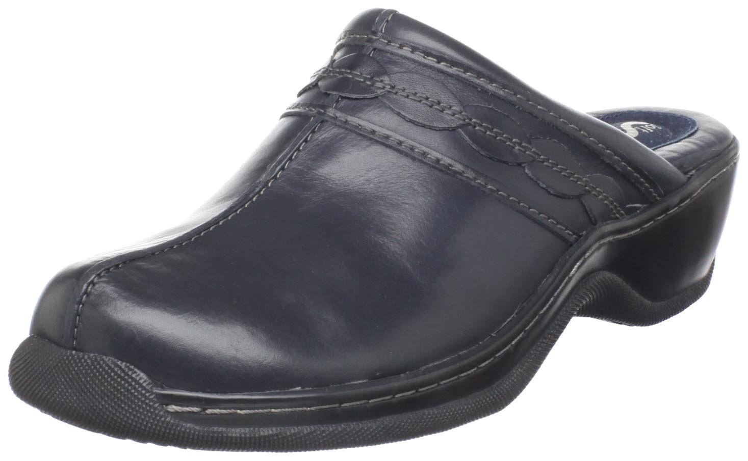SoftWalk Women's Abby Clog B004QFULZ4 10 B(M) US|Navy
