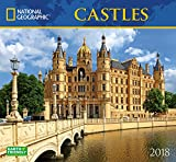 National Geographic Castles 2018 Wall Calendar