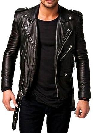 521813f20 World Of Leather Moto Style Leather Jacket Biker Motorcycle