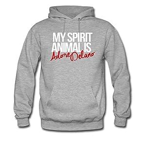 Spirit Animal Adore Delano For men Printed Sweatshirt Pullover Hoody