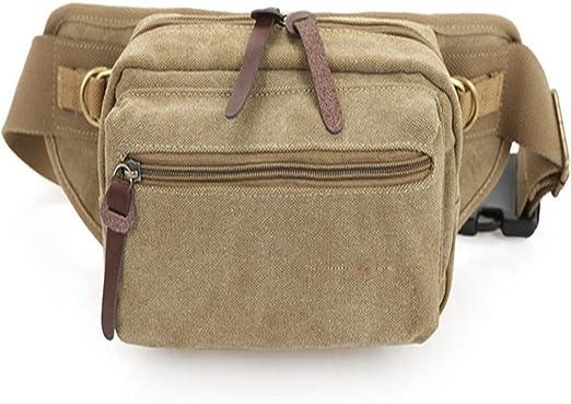 Yamyannie Riñonera Running Llevar Pasaporte Belt Holster Bag Fmeida Leather Fanny Waist Pack Bolso Bandolera para Hombre Niño Viajar Hípica Golf Acampada: Amazon.es: Hogar