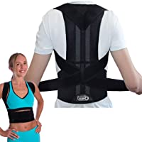 Breathable Back Support and Lumbar Lower Back Brace Provides Back Pain Relief -...