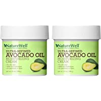 NatureWell Ultra-Refined Avocado Oil Moisturizing Cream for Face & Body, 10 oz. | Adds Rich Hydration to Transform Dry…