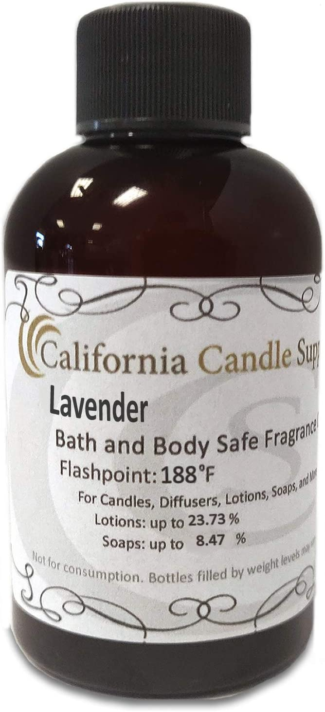 Lavender Fragrance Oil 4oz Candles and Soap