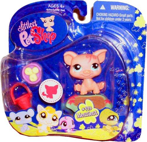 Hasbro Year 2009 Littlest Pet Shop Portable Pets