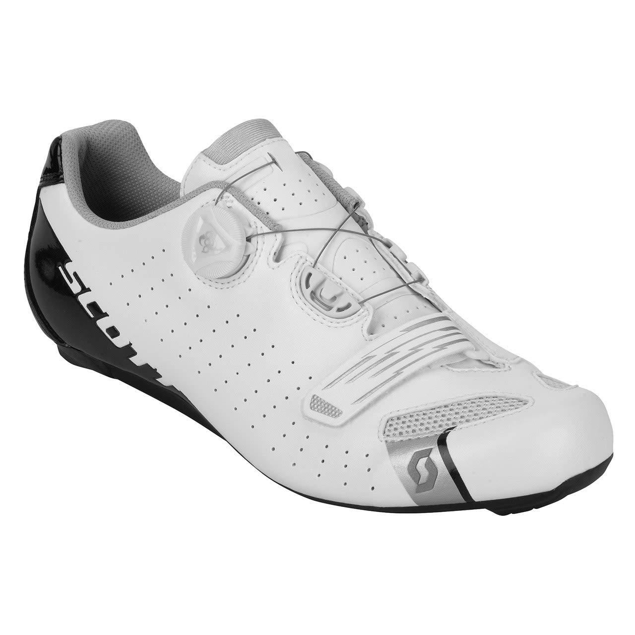 Scott Road Comp Boa Guantes Bicicleta de carreras Color blanco negro 2018 -