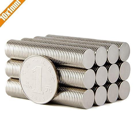 Amazon.com: LTKJ - 50 – 200 imanes de cilindro redondo para ...