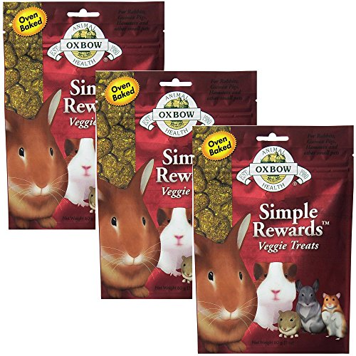 - Oxbow Simple Rewards Veggie Treats For Rabbits, Guinea Pigs, Hamsters and Other Small Pets