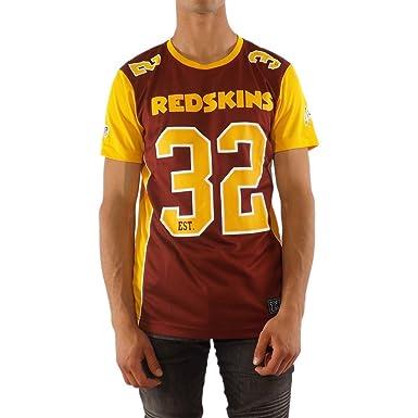 Majestic T-Shirt NFL Washington Redskins Dene Poly Mesh Maroon XS (X-Small d2e159fab