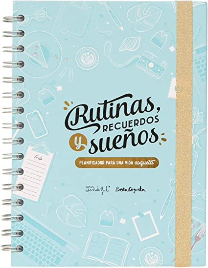 Planificador semanal Beta Coqueta + Mr. Wonderful: Amazon.es ...