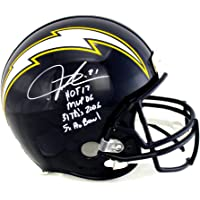 $269 » LaDainian Tomlinson San Diego Chargers Signed Autograph Throwback Full Size Helmet RARE MULTI INSCRIBED GTSM JSA Certified