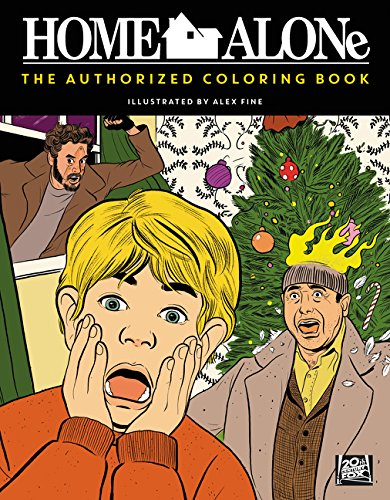 Home Alone: The Authorized Coloring Book -