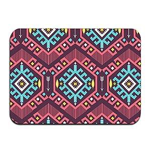 kahf India Tribe Non Slip floor pad Super Absorbs Mud Doormat entrance rug