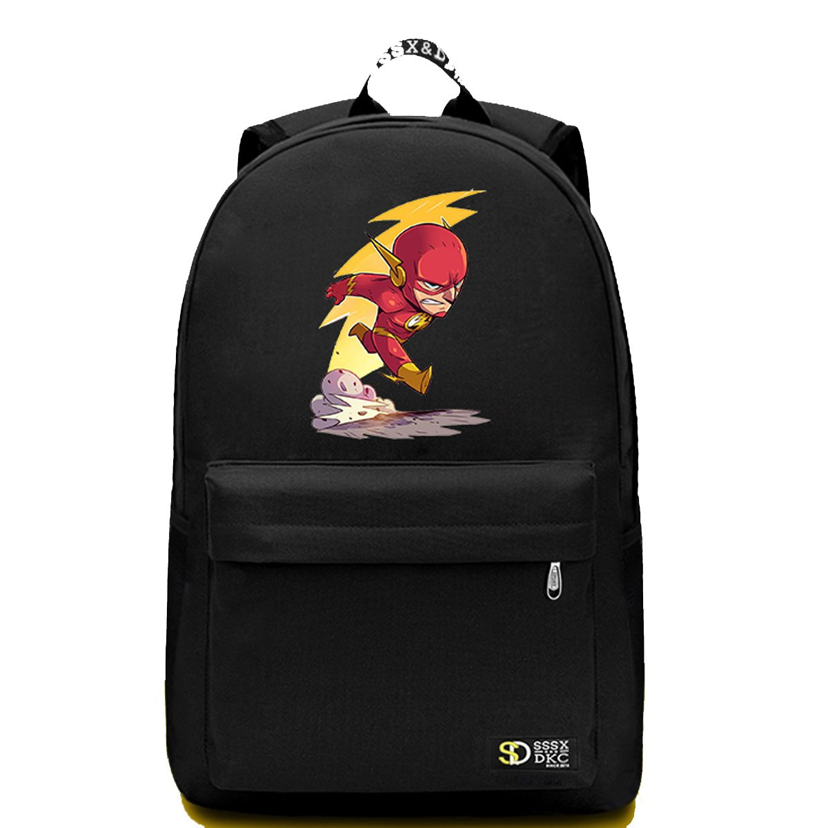 7fe77a82332 Amazon.com   YOURNELO Leisure DC Comics Marvel Heroes High Capacity  Rucksack School Backpack Bookbag