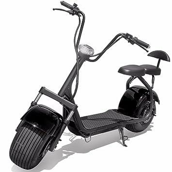 Nueva 1000 W Eléctrico Motocicleta Chopper Scooter para ...