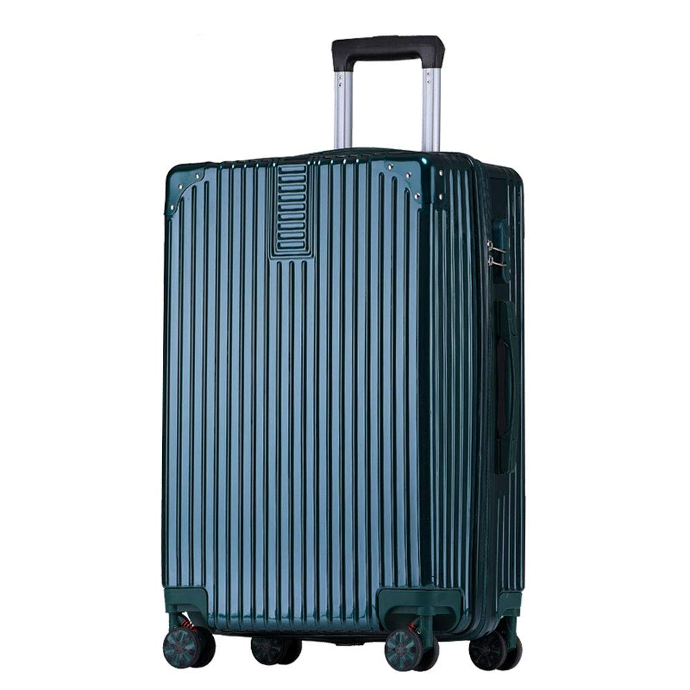 YD Luggage Set Trolley case Adjustable Lever 4 Colors ABS//PC 2 Stylish Small Fresh Retro Glossy Universal Caster Student Large Capacity Password Suitcase Aluminum Alloy Edging