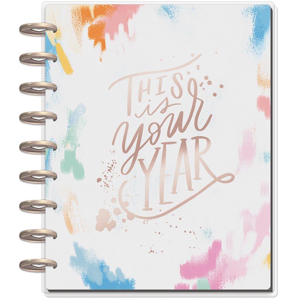 me & My Big Ideas PLNR-72 The Happy Planner System, Medium, Brushy Brights/Classic by Me & My Big Ideas