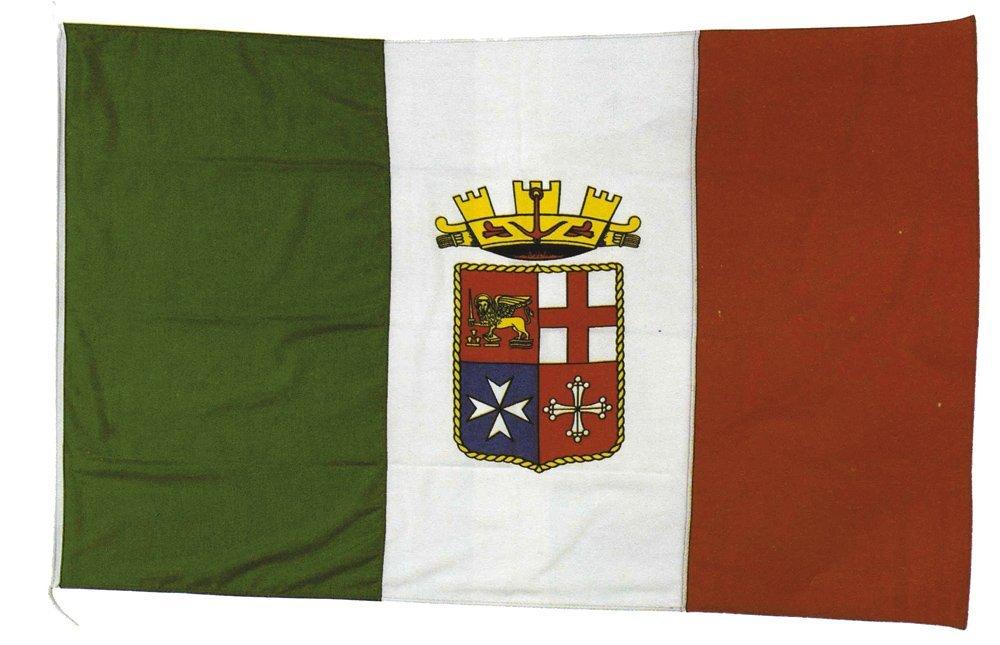 Forniture Nautiche Italiane Bandiera Marina Militare 45X70