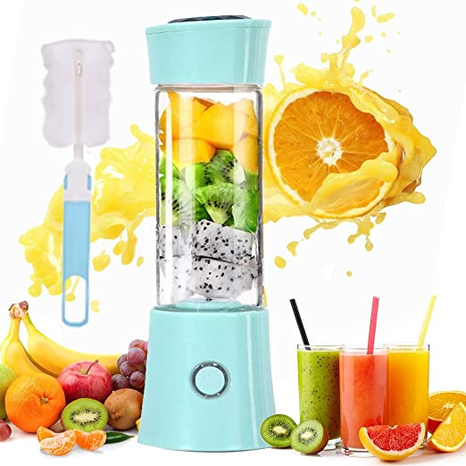 Portable Blender Personal Mixer for Nutritious Juice Crushed-ice Smoothie Shake,