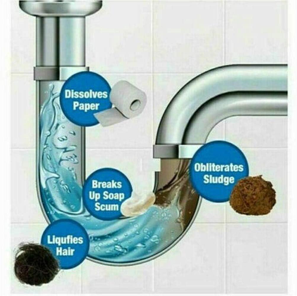 3PCS Selvaggio Tornado Potente Sink /& Pulitore di Scarico Ad Alta Efficienza-Intasamento di Rimozione