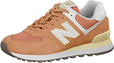 new balance femmes beige et orange