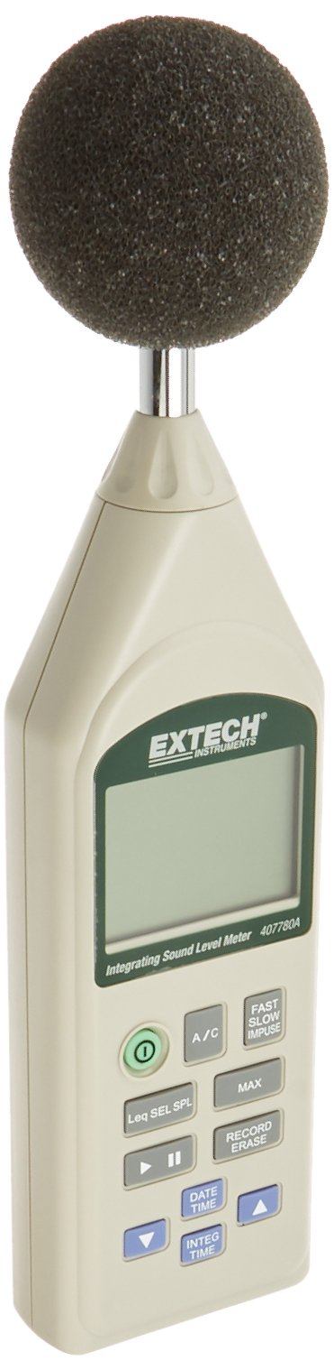 Extech 407780A Integrating Sound Level Meter with USB by Extech