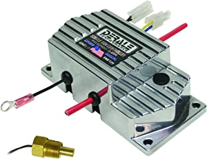 "Derale 16779 High Amperage Single Fan Controller with 3/8"" NPT Thread In Probe"