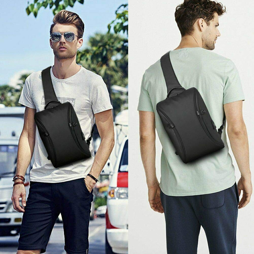 FUDIDD Mens Waterproof Multi-Purpose Backpack and USB Charging Port for Travel//Mountain Climbing