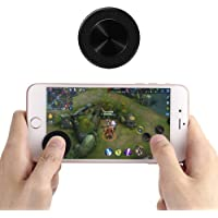 2018 Professional Mobile Joysticks Controller for Games, Touch Screen Rocker Controller Mini Sucker Joypad for Smartphone Tablet or Pad Support Many Games