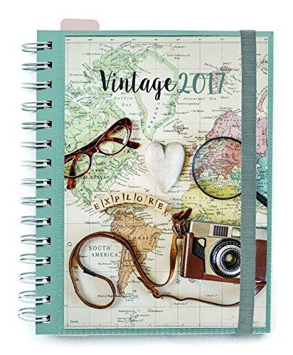 Agenda 2017 Semana Vista Vintage: Amazon.es: Juguetes y juegos