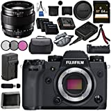 Fujifilm X-H1 Mirrorless Digital Camera (Body Only) 16568731 XF 23mm f/1.4 R Lens 16405575 VPB-XH1 Vertical Power Booster Grip Bundle