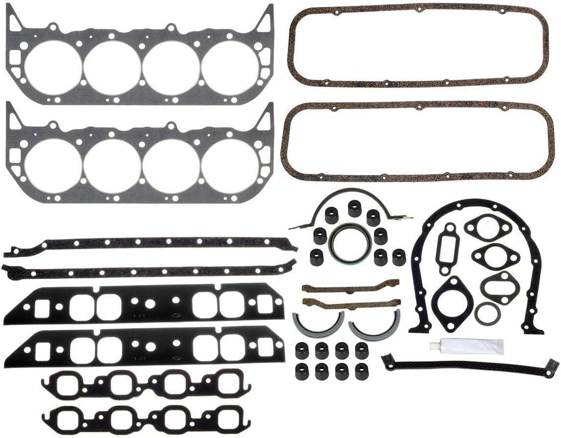 New Fel Pro Engine Overhaul Gasket Set 1965-1979 Chevy bb 454 427 402 396 366